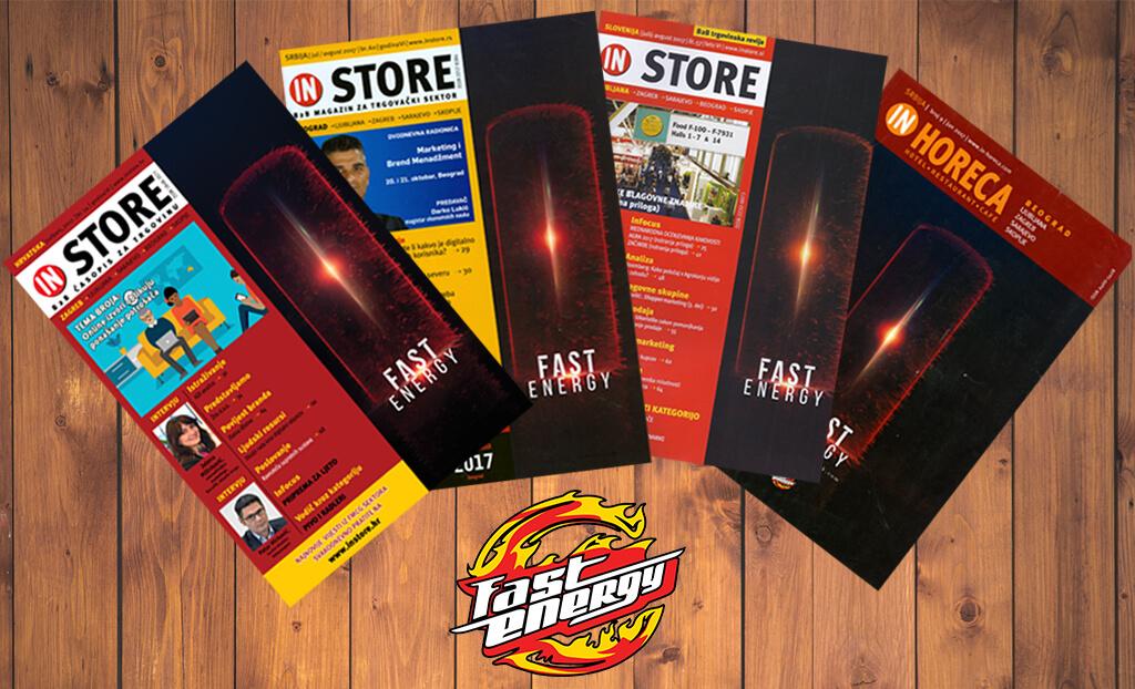 In Store, In Horeca - Naslovnice Fast Energy