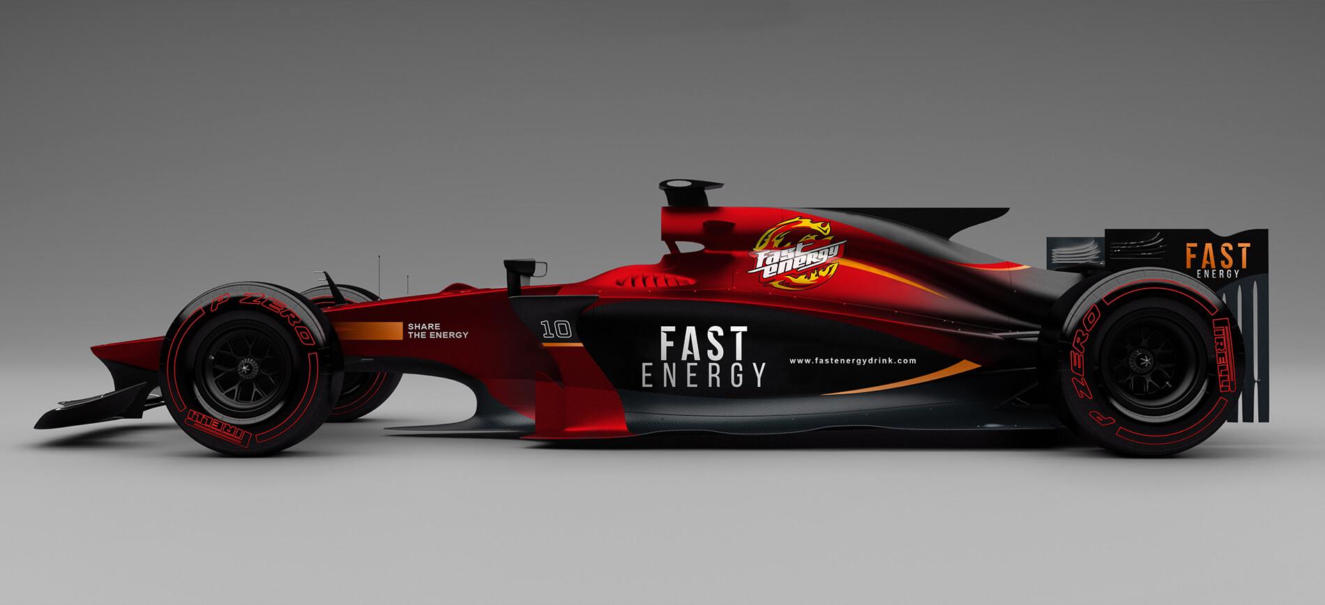 Fast energy drink - Slajder