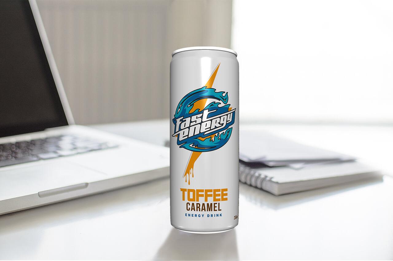 Energetsko piće Fast Energy drink Toffee Caramel